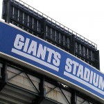 GIANTS STADIUM SIGN